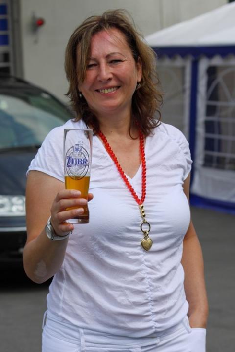 Nataša Rousková, sládková pivovaru Zubr